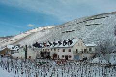 Das Haus bei Schnee
